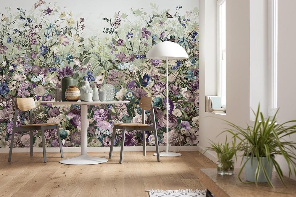 """Φωτοταπετσαρία τοίχου Φλοράλ Komar XXL4-035 Non woven Vlies  """"Botanica"""" 368x248cm"""