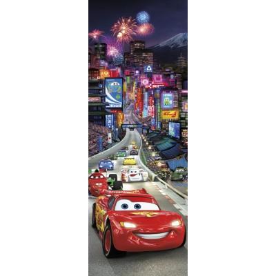 Φωτοταπετσαρία τοίχου παιδική Komar 1-404 McQueen DISNEY Cars Tokyo  73x202cm