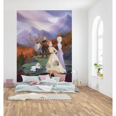 Φωτοταπετσαρία τοίχου παιδική Komar 4-4105 Frozen Spring is coming  DISNEY  184x254cm