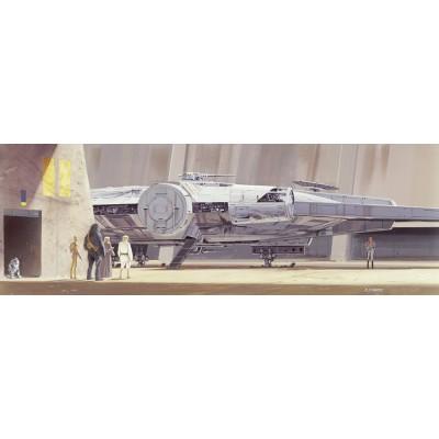 Φωτοταπετσαρία τοίχου παιδική Komar 4-4112 Millenium Falcon STAR WARS 368x127cm