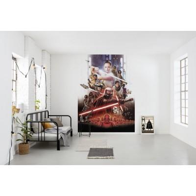 Φωτοταπετσαρία τοίχου παιδική Komar 4-4113 Rey Movie Poster STAR WARS 184x254cm