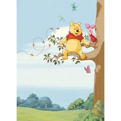 Φωτοταπετσαρία τοίχου παιδική Komar 4-4116 Winnie Pooh Tree DISNEY 184x254cm