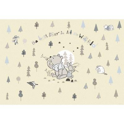 Φωτοταπετσαρία τοίχου παιδική DISNEY Γουίνι το καλύτερο αρκουδάκι 368x254cm