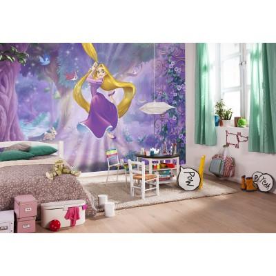 Φωτοταπετσαρία τοίχου  Ραπουνζέλ DISNEY 368x254cm