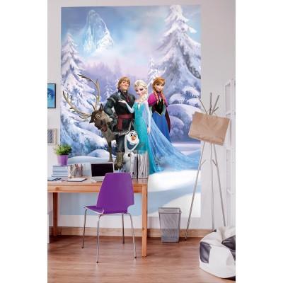 Φωτοταπετσαρία τοίχου παιδική Komar 4-498 Frozen Winter Land DISNEY  184x254cm