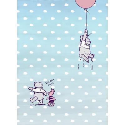 """Φωτοταπετσαρία τοίχου παιδική Komar 4-4025 """"Winnie Pooh Piglet"""" DISNEY 184x254cm"""