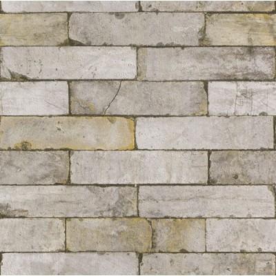 Ταπετσαρία τοίχου Rasch Απομίμηση Πέτρας 10,05x0,53