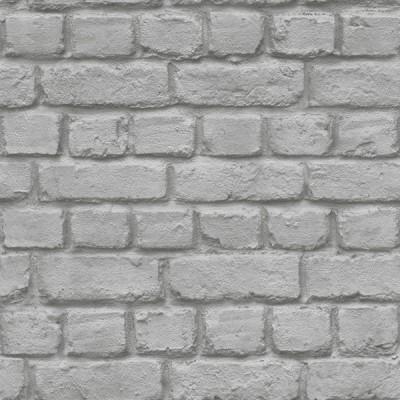Ταπετσαρία τοίχου Rasch Απομίμηση Τούβλο γκρι 10,05x0,53
