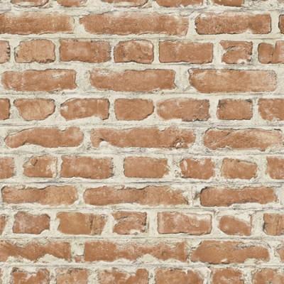 Ταπετσαρία τοίχου Rasch Απομίμηση Κόκκινο τούβλο με κονίαμα 10,05x0,53
