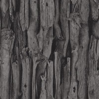 Ταπετσαρία τοίχου Rasch  Μαύρο - Γκρι  Απομίμηση Ξύλου  (νεκρή φύση)  10,05x0,53