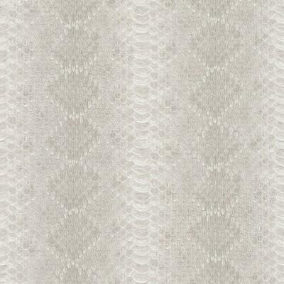Ταπετσαρία τοίχου Rasch  Γκρι - εκρού  Απομίμηση Μοτίβο Φιδιού  10,05x0,53