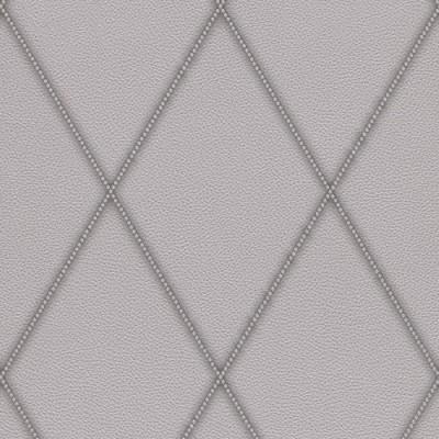 Ταπετσαρία τοίχου Rasch  Ασημί - Γκρι  Απομίμηση Δέρμα 10,05x0,53