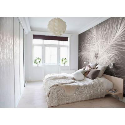 Φωτοταπετσαρία τοίχου Φτερά σε σχήμα λουλουδιού 368x248cm