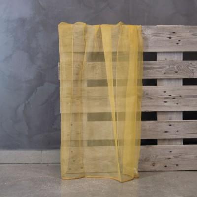Έτοιμη κουρτίνα ραμμένη με τρέσα T6 Numansia/Mustard Μουσταρδί