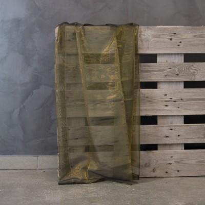 Κουρτίνα με το μέτρο 8109/02 Λαδί/ Χρυσό