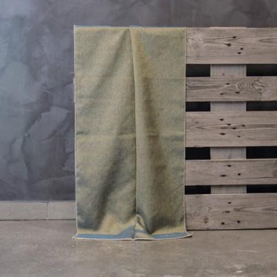 Έτοιμη κουρτίνα ραμμένη με τρέσα 20979/18 Λαδί