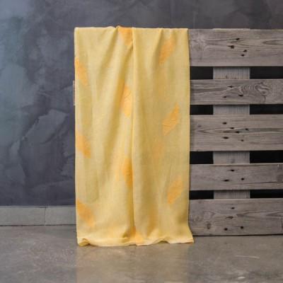 Έτοιμη κουρτίνα ραμμένη με τρέσα 140x300 573/8 Κίτρινο