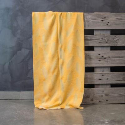 Έτοιμη κουρτίνα ραμμένη με τρέσα 547/8 Κίτρινο