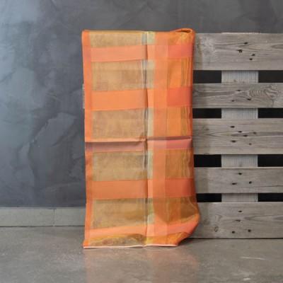 Κουρτίνα με το μέτρο 1195/08  Πορτοκαλί/