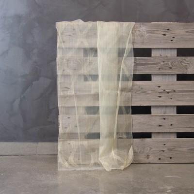 Έτοιμη κουρτίνα ραμμένη με τρέσα 60199/V-4 Μπεζ/Καφέ/Λαδί 140x300