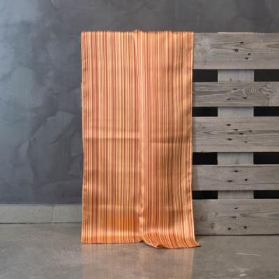 Έτοιμη κουρτίνα ραμμένη με τρέσα 634/V-2  Κεραμιδί/Πορτοκαλί 140Χ300
