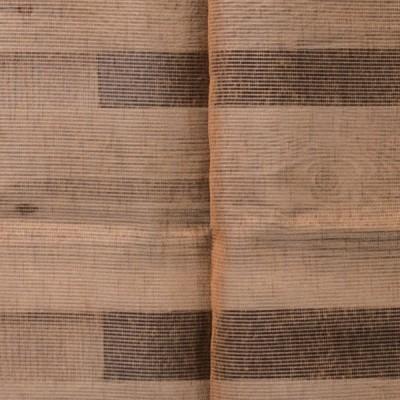 Έτοιμη κουρτίνα ραμμένη με τρέσα Carmina 201317-15  Πορτοκαλί/Κεραμιδί
