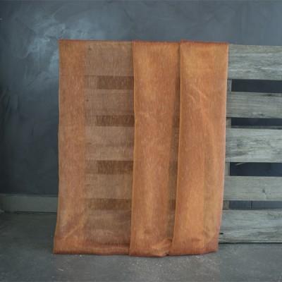 Κουρτίνα με το μέτρο 1043-D-3 Πορτοκαλί