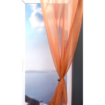 Κουρτίνα με το μέτρο 1043/V E5 Κεραμιδί