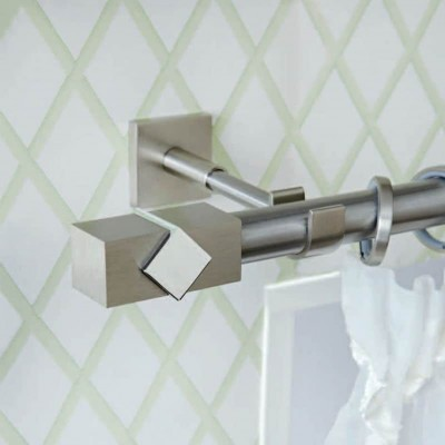 Inox κουρτινόξυλο Caldera Metal Φ25 160cm by Aslanis