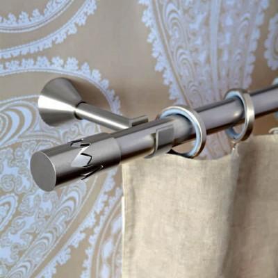 Inox κουρτινόξυλο Remezzo Φ30 160cm by Aslanis