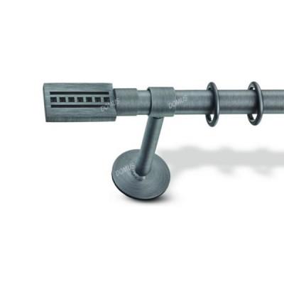 Μεταλλικό Βιομηχανικό Κουρτινόξυλο Domus Φ25 Artemis από 160cm σε 6 διαστάσεις