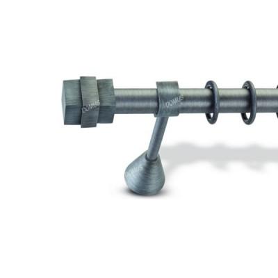 Μεταλλικό Βιομηχανικό Κουρτινόξυλο Domus Φ25 Montana από 160cm σε 6 διαστάσεις