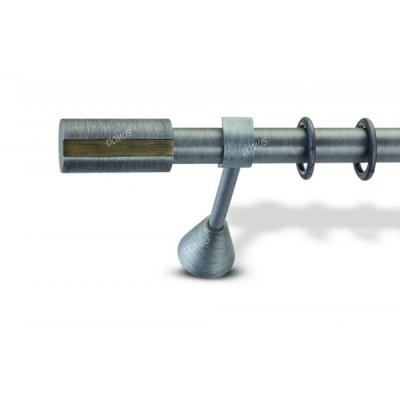 Μεταλλικό Βιομηχανικό Κουρτινόξυλο Domus Φ25 Orizontio από 160cm σε 6 διαστάσεις