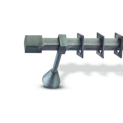 Μεταλλικό Βιομηχανικό Κουρτινόξυλο Domus Φ25 Torino από 160cm σε 6 διαστάσεις