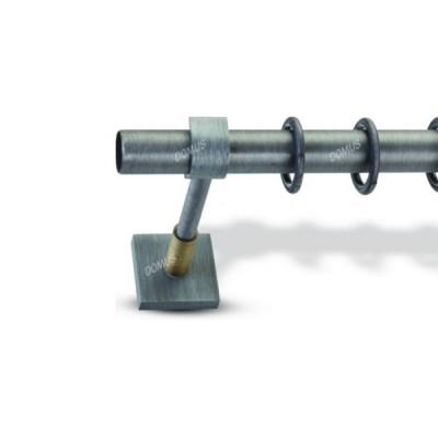 Μεταλλικό Βιομηχανικό Κουρτινόξυλο Domus Φ25 Σετ Χωρίς Τέρματα από 160cm σε 6 διαστάσεις
