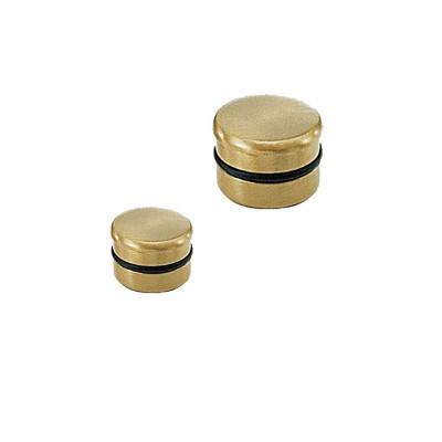 Τάπα σωλήνα ίσια χρυσό ματ Φ25 και Φ35