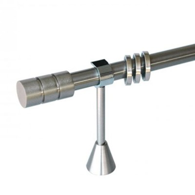 Μεταλλικό κουρτινόξυλο Φ25 Νο 08   160cm OEM