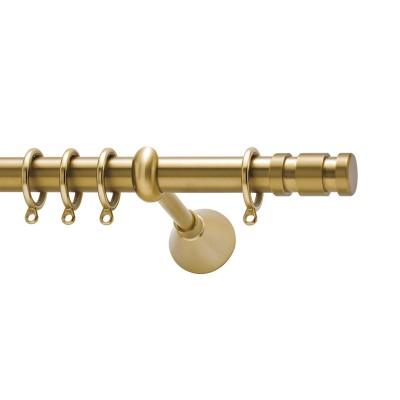 Μεταλλικό κουρτινόξυλο Polar Φ25 /χρυσό ματ