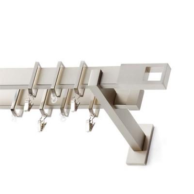 Ιnox Κουρτινόξυλο Belmont Π30 160cm