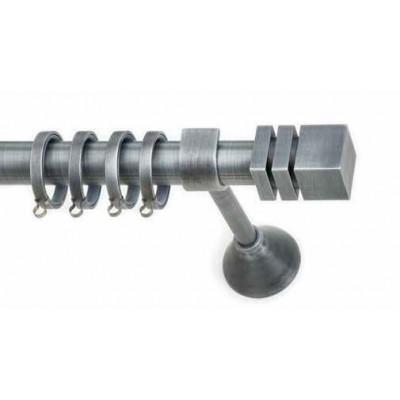 Μεταλλικό Βιομηχανικό Κουρτινόξυλο Ιdra-Anartisi Φ25 απο 200cm σε 4 διαστάσεις.