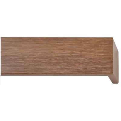 Κουρτινόξυλο μετόπη ξύλινη Viometale Andriana  Δρυς καφέ 336