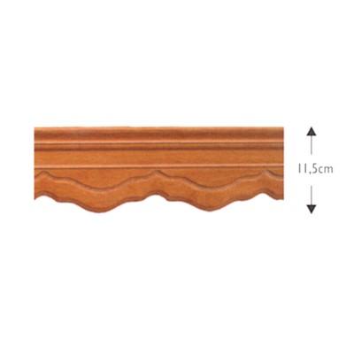 Κουρτινόξυλο μετόπη ξύλινη ΛΑΤΙΝΑ ΜΕΛΙ OEM