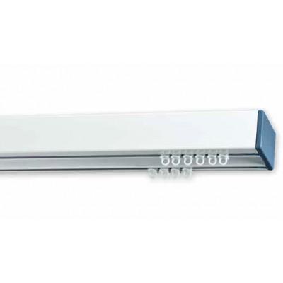 Σιδηρόδρομος αλουμινίου Anartisi Prisma Λευκός-Μπλε διπλός 160cm