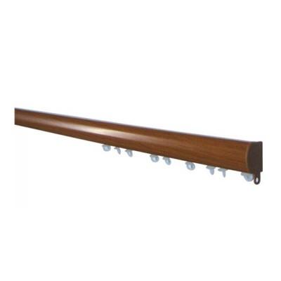 Σιδηρόδρομος αλουμινίου οβάλ μονός ξύλο OEM