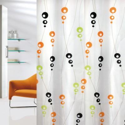 Κουρτίνα μπάνιου υφασμάτινη JOY Bubbles 180x200