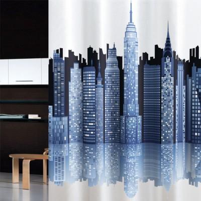 Κουρτίνα μπάνιου υφασμάτινη JOY City 180x200