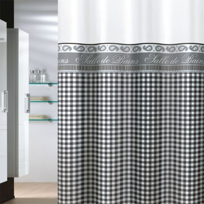 Κουρτίνα μπάνιου υφασμάτινη JOY Country Style 180x200