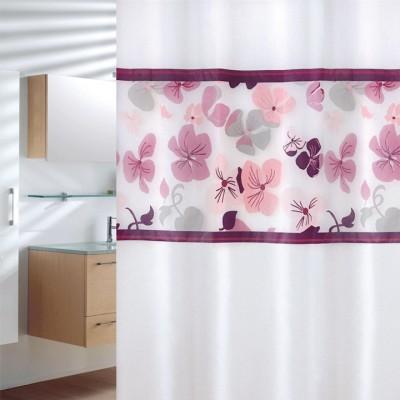 Κουρτίνα μπάνιου πλαστική PEVA JOY Flowers 180x200