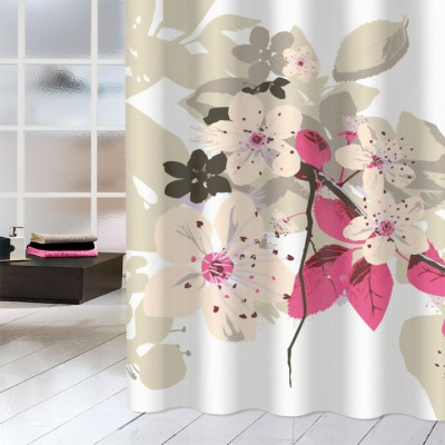Κουρτίνα μπάνιου υφασμάτινη JOY Spring 180x200