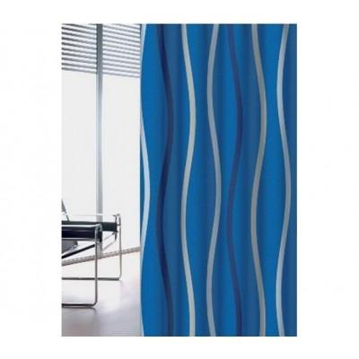 Κουρτίνα μπάνιου υφασμάτινη JOY Waves 180x200 και 240x200